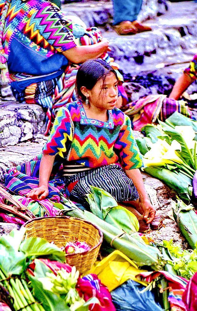 Markttag in Chichicastenango, Guatemala