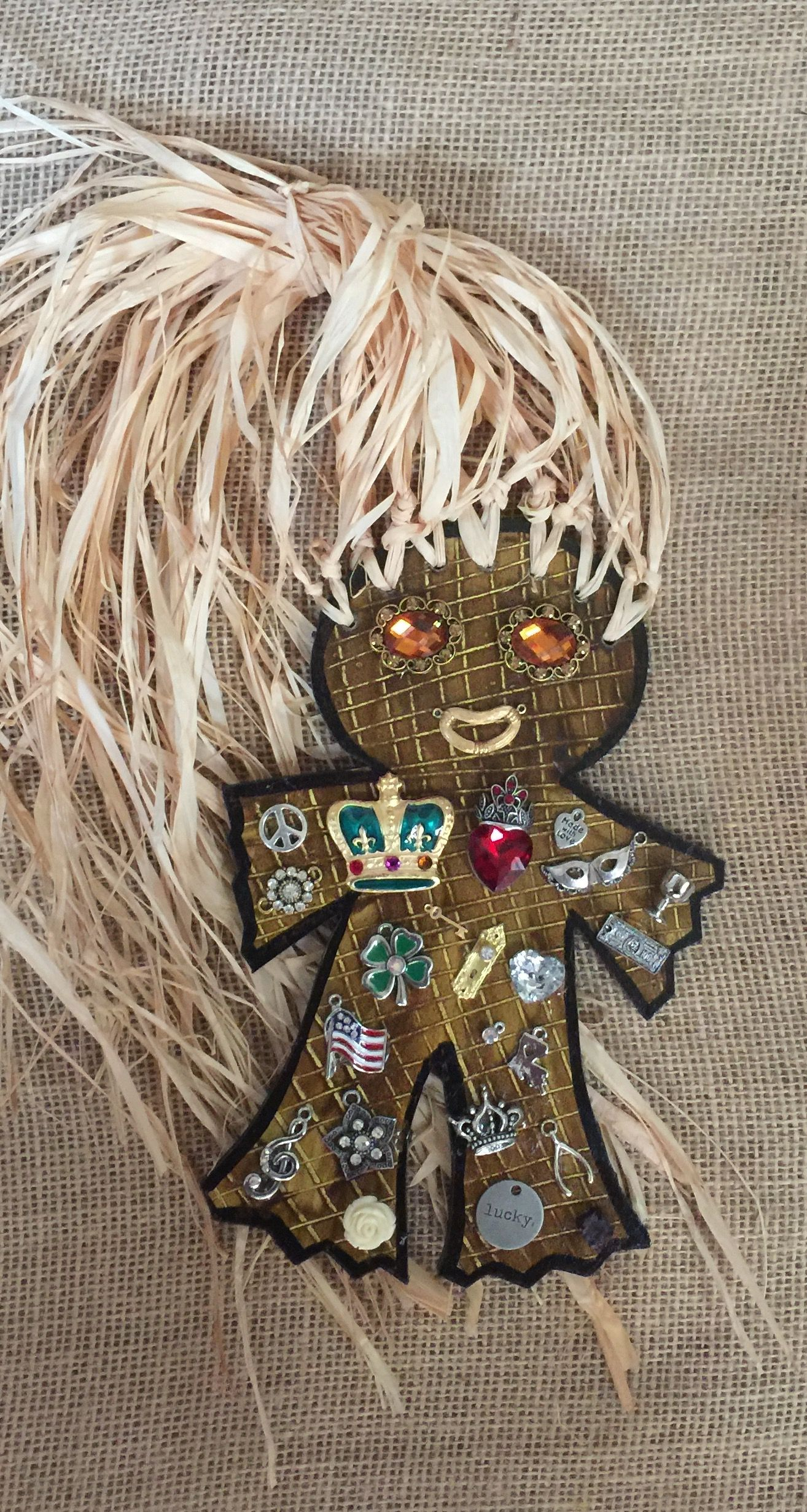Charm doll for good luck 93