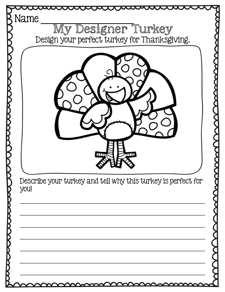 thanksgiving reading activities for first grade Google