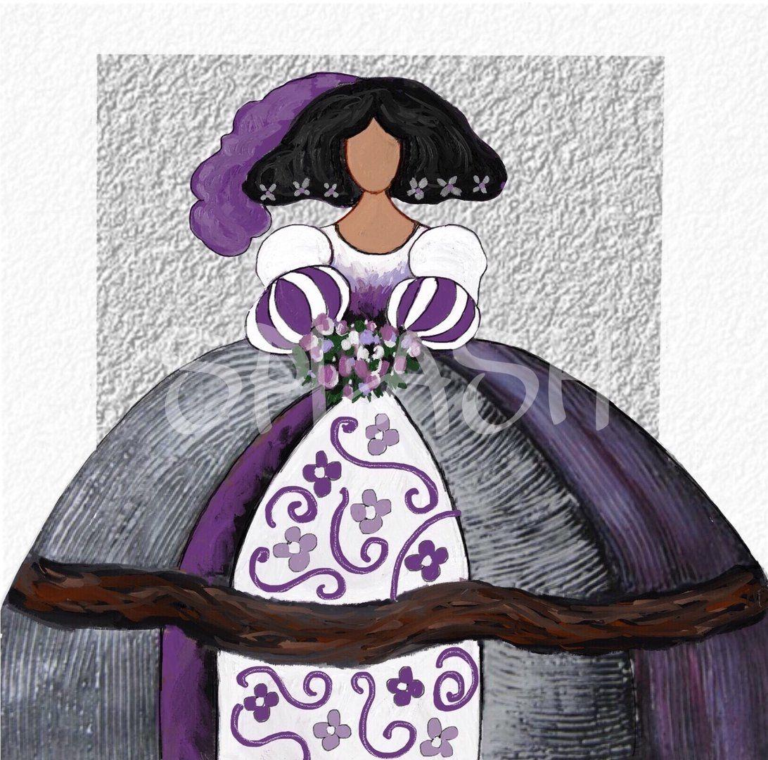 Menina malva y plata sp615 meninas pinterest - Cuadro meninas moderno ...