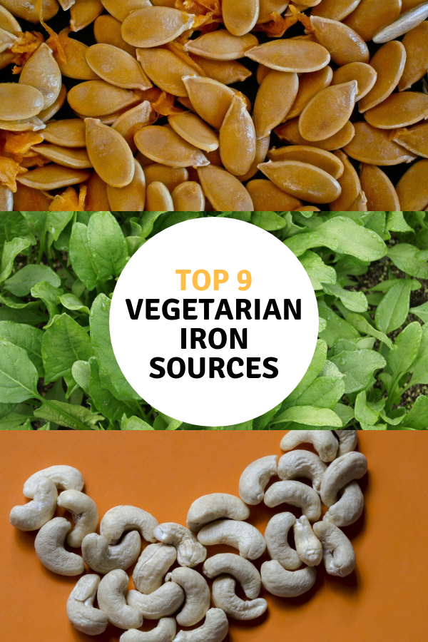 9 Vegetable and Plant Based Iron Sources You Should Be