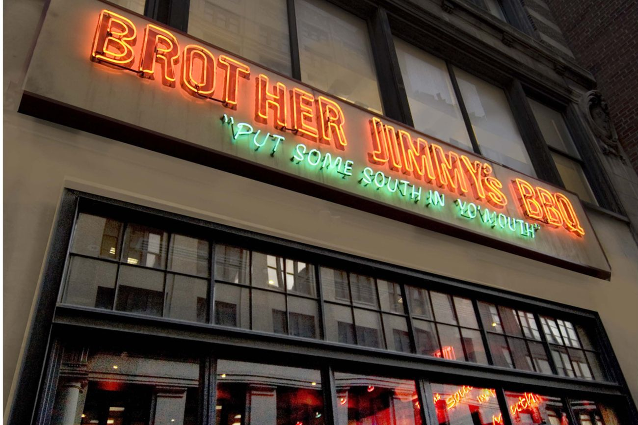 Brother Jimmy's BBQ Great Southern Food NYC NY Legend