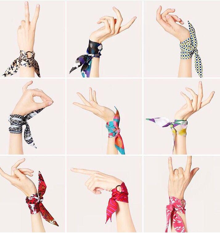 Lollipop Of Designer Silk Bracelets Www Silkphilosophy Com Bufandas Modernas Bufanda De Pelo Accesorios Para El Cabello