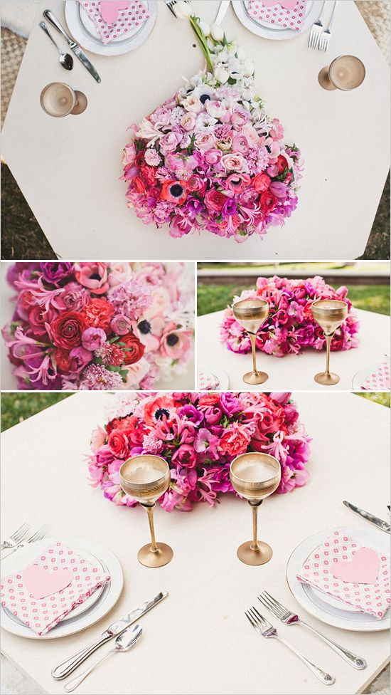 Heart Themed Engagement Party Themed Engagement Photos Pink Wedding Flowers Heart Themed