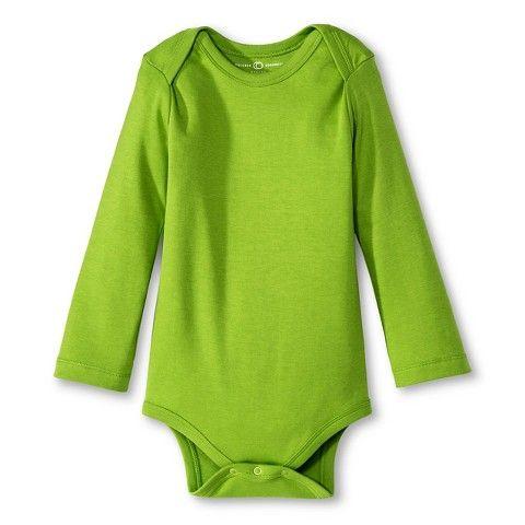 Colored Organics™ Newborn Long-sleeve Bodysuit -