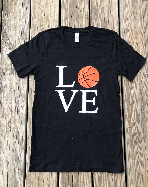 Basketball Shirt Love Shirt Graphic Tee Soft Style Tee Love Shirt Basketball Shirts Shirts