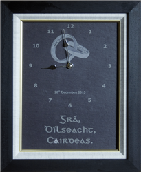 Buy Personalized And Framed Natural Slate Clock Wedding Gifts Online Wedding Gifts Online Wedding Frames Clock