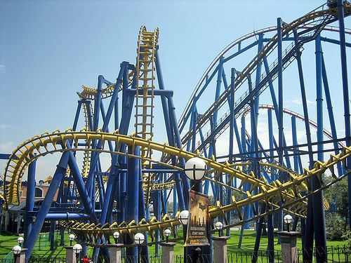 6 Flags Roller Coaster Thrill Ride Places To Visit
