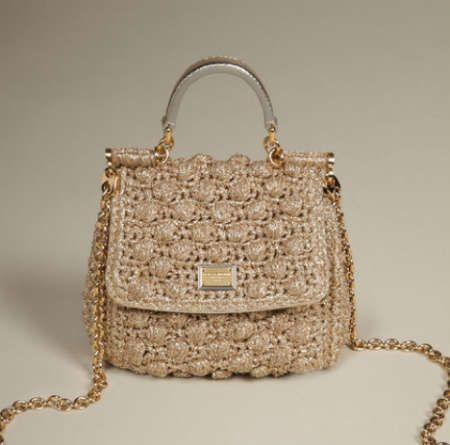 5 Current Crochet Items From Dolce And Gabbana Bag Bolsas De
