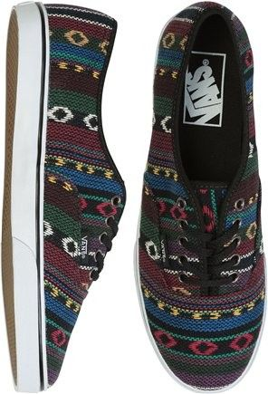 84ab4a521274ee Aztec Print Sneakers Vans Shoes  aztec  sneakers  vans  shoes  www.loveitsomuch.com
