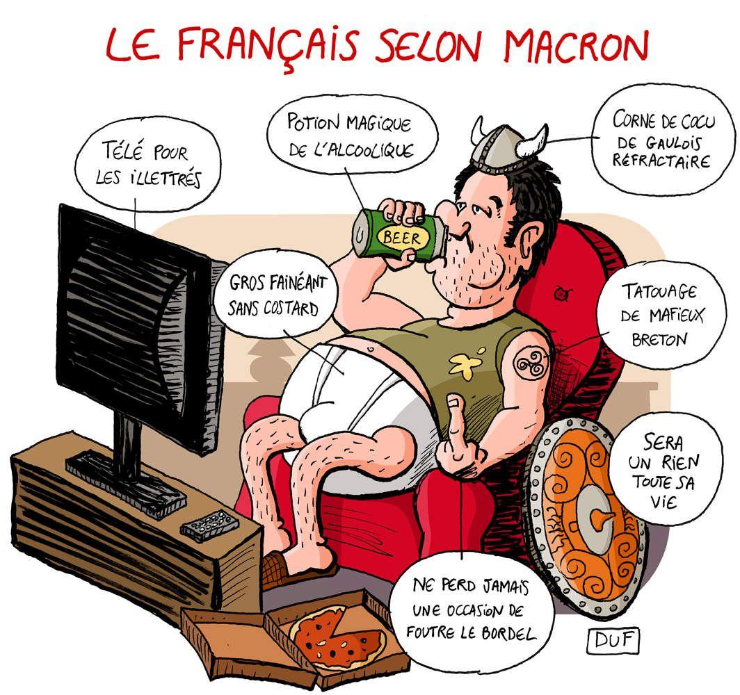 Portrait-robot du français moyen d'après Emmanuel Macron | Humour ...