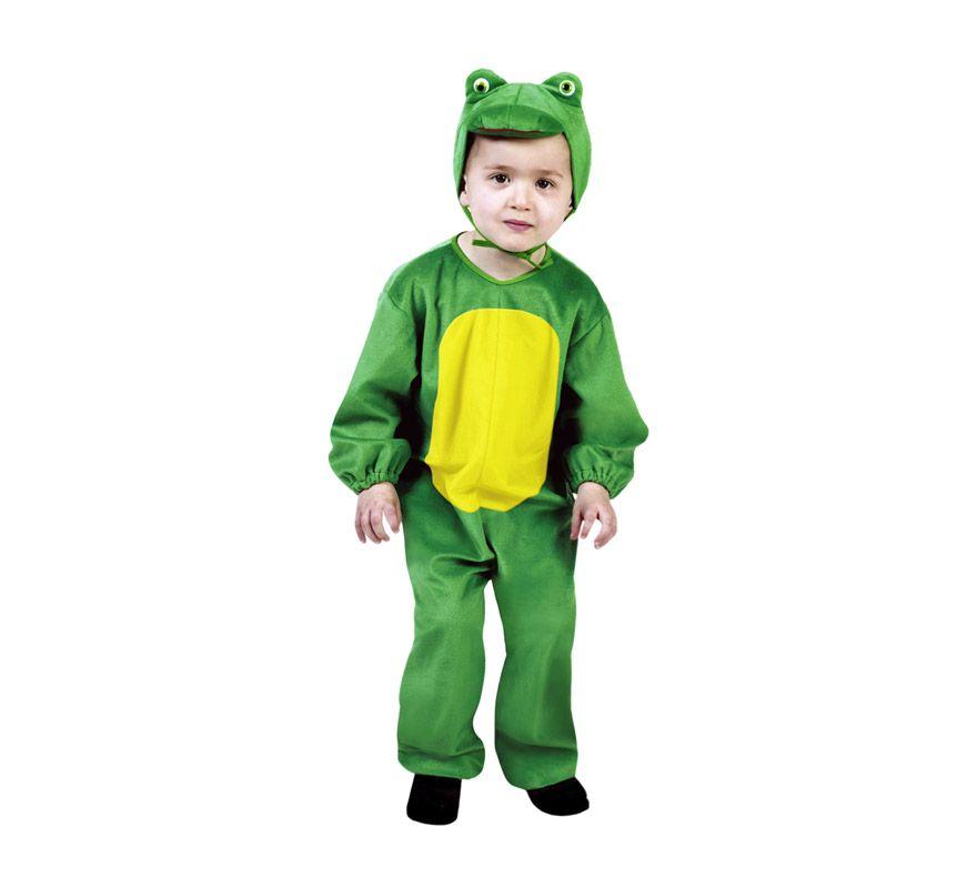 Disfraz de rana ni os 3 4 a os para carnaval disfrazzes - Disfraces infantiles navidenos ...