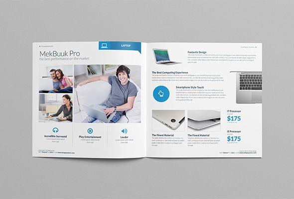 Tempey Digital Product Catalog Template By Alias Hamdi