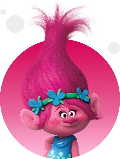 Poppy Is The Heroic Leader Of The Trolls Who Lifts Up Everyone Around Her With Positivity And
