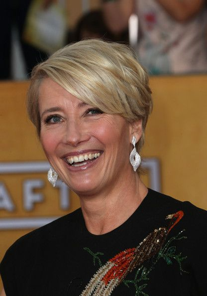 Haircuts Trends 2017/ 2018 Emma Thompson's Layered Razor