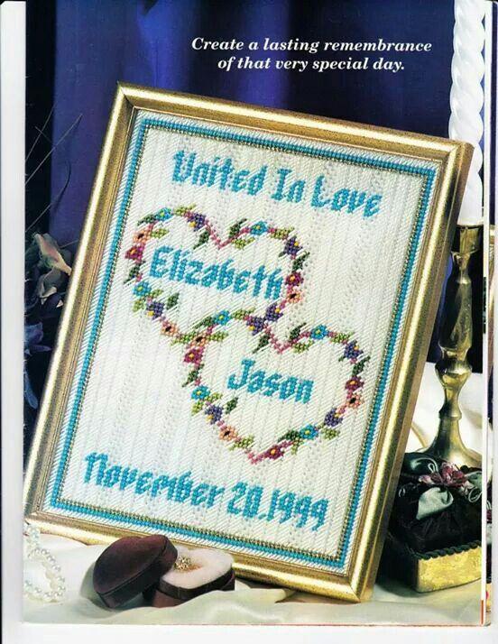Wedding Memories Sampler picture frame   pc wedding   Pinterest ...