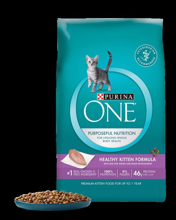 Purina One Healthy Kitten Formula Kitten Food Best Cat Food
