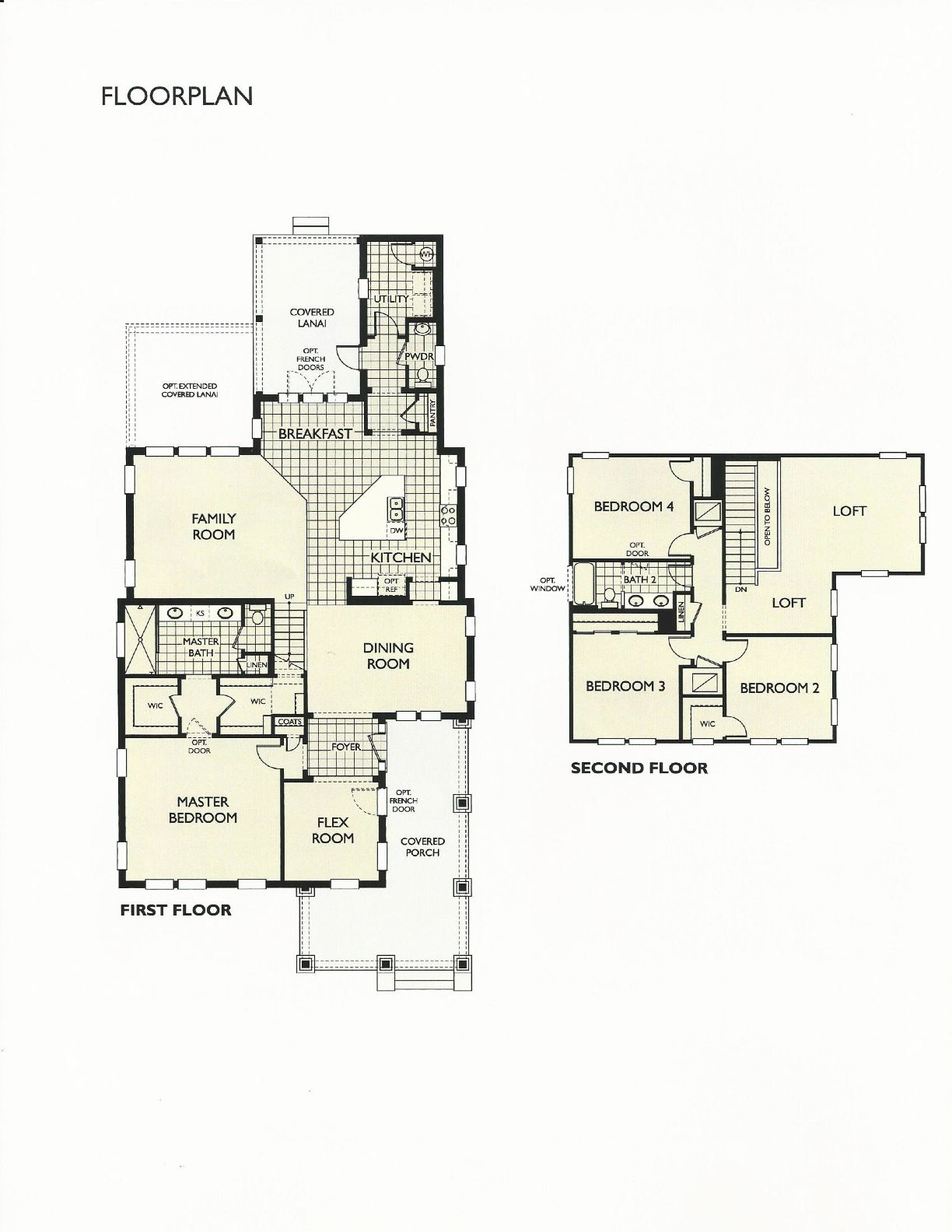 oakland park overcup floor plan in winter garden fl oakland park