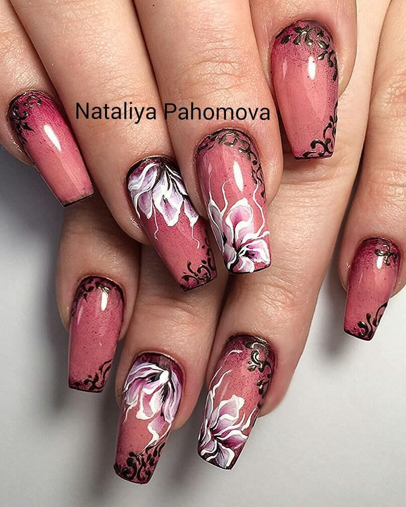 Pin by phyllis martinez on nails in pinterest nails nail