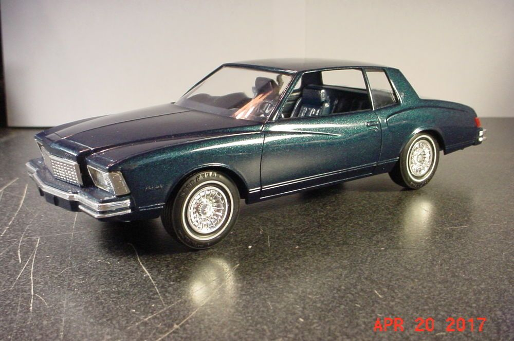 1979 Chevrolet Monte Carlo Blue Metallic 1 25 Promotional Mpc