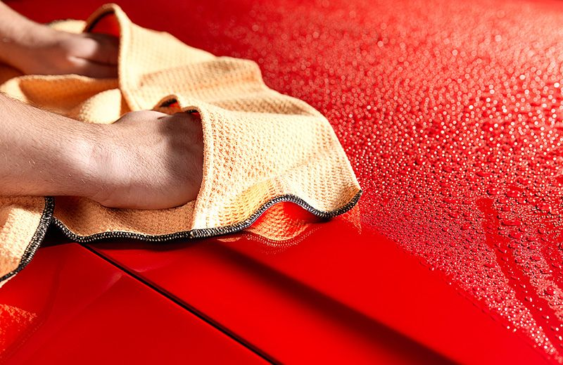 Preventing Swirl Marks - Drying Your Car | Hagerty Articles
