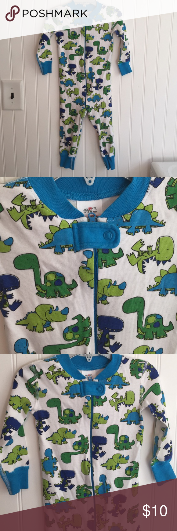 Organic pjs from Hanna Andersson 18-24months Organic sleepwear pjs from Hanna Andersson 18-24months with dinosaurs Hanna Andersson Pajamas Pajama Sets