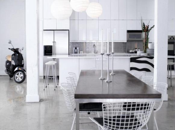 High gloss modern kitchen - Arren Williams Design Lab | Wish Magazine | Photographer: Michael Alberstat