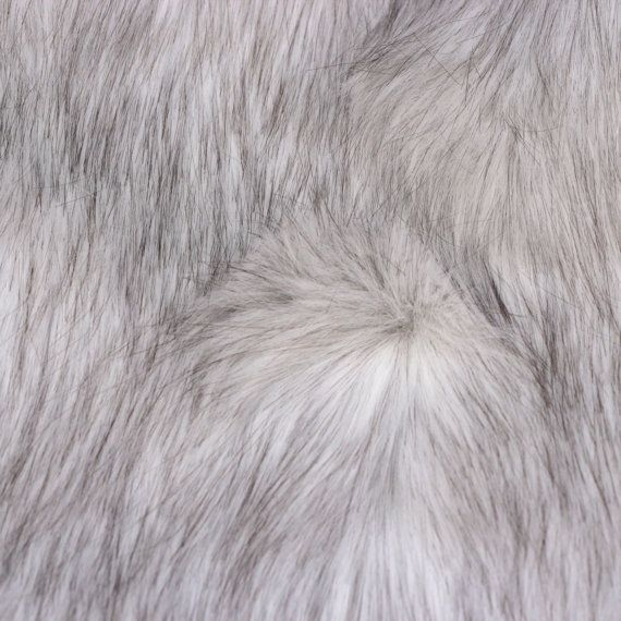 Faux Wolf Fur Husky Fur Arctic Wolf Fur Artificial White Fur Long Hair Faux Fur Fabric For Art Dolls A Fur Textures Faux Fur Throw Blanket Faux Fur Fabric