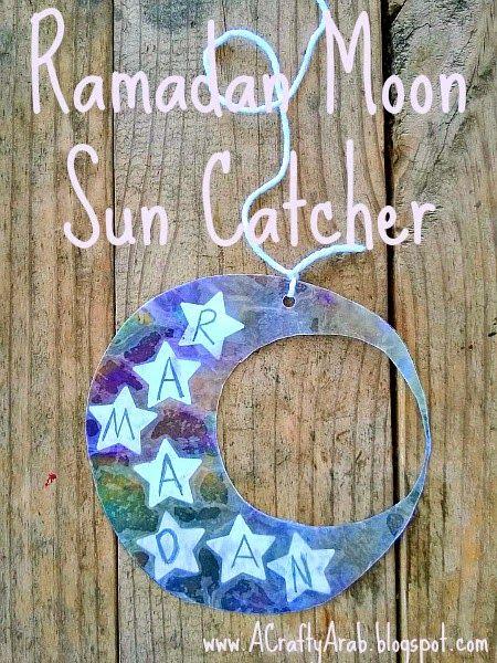 Ramadan Moon Sun Catcher Tutorial