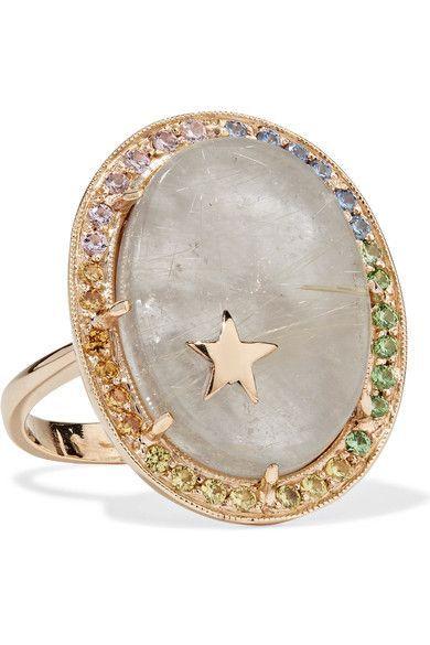 14-karat Gold Multi-stone Ring - 7 Andrea Fohrman eOhgvUuKb