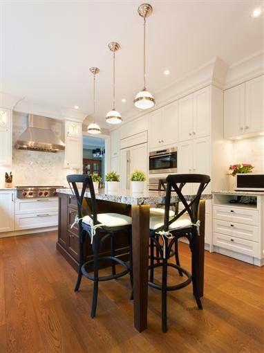 Un aire moderno en la cocina clásica - Cocinas con estilo Deco