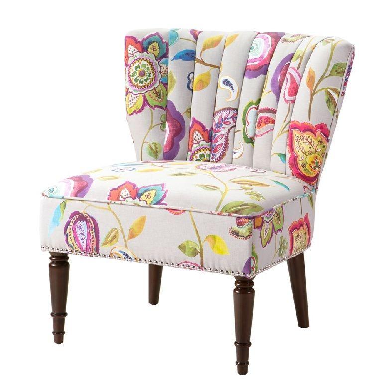 Tori Wingback Slipper In Multi Colors Accent Chair By