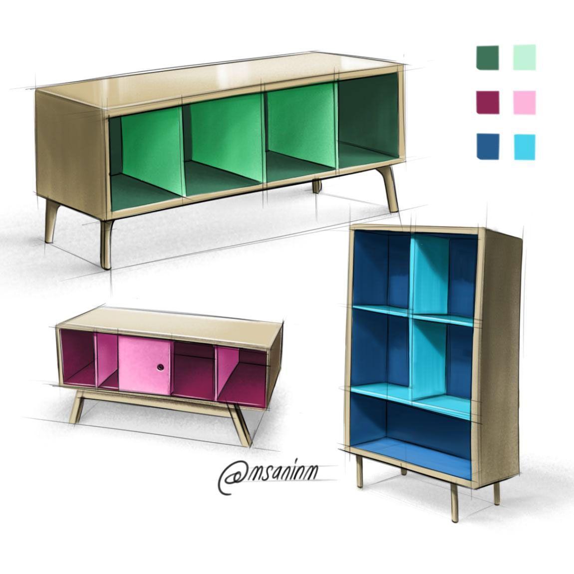 Desarrollo de conceptos y propuestas cool ideas pinterest muebles concepto y dise o - Muebles diseno industrial ...