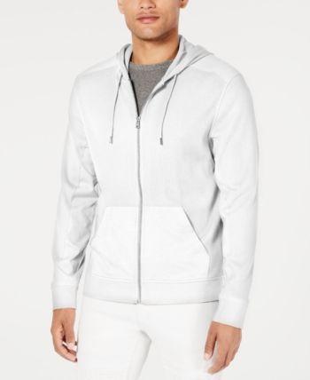 I-N-C Mens Zip-Front Hoodie Sweatshirt