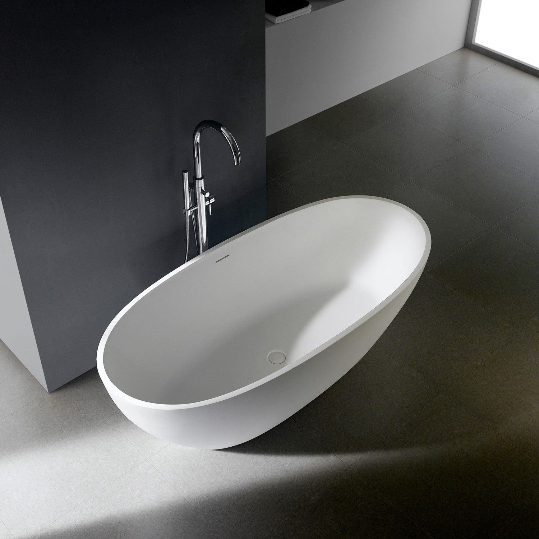 Freistehende Badewanne Soho 2 0 170 Cm Mineralguss Wunderbad In 2020 Badewanne Freistehende Badewanne Wanne