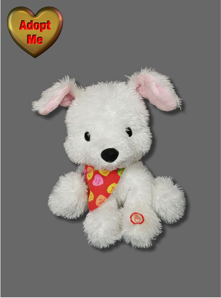 Hallmark Valentines Singing Puppy Love You Pup Animated
