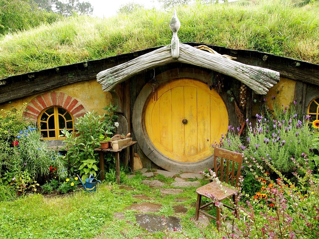 Hobbit houses beautiful designing gnome house for New zealand garden designs ideas