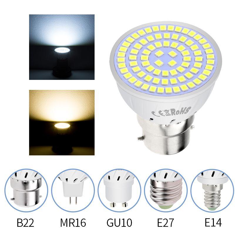 Led Gu10 Spotlight Bulb E27 Corn Lamp Mr16 Spot Light Bulb Led Lamparas Gu5 3 220v Bombillas Led E14 Focos Ampoule B22 Lighting Buy Now Discoun