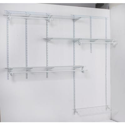 ClosetMaid   ShelfTrack Closet Organizer Kit U2013 8 In 1   287531   Home Depot  Canada