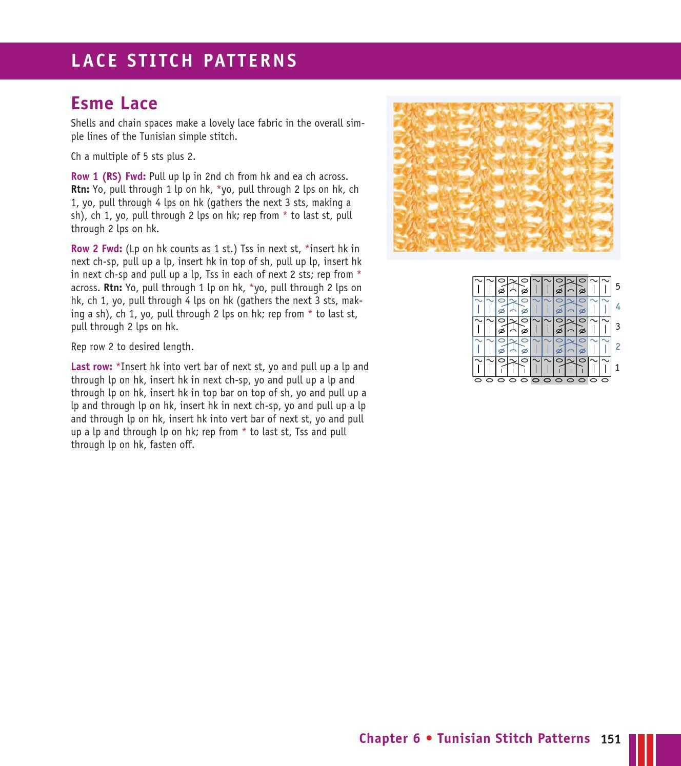 #ClippedOnIssuu da Crochet stitches