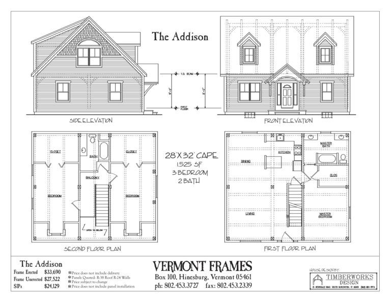 Post Beam Home Plans In Vt Timber Framing Floor Plans Vt Frames House Plans Floor Plans House Floor Plans