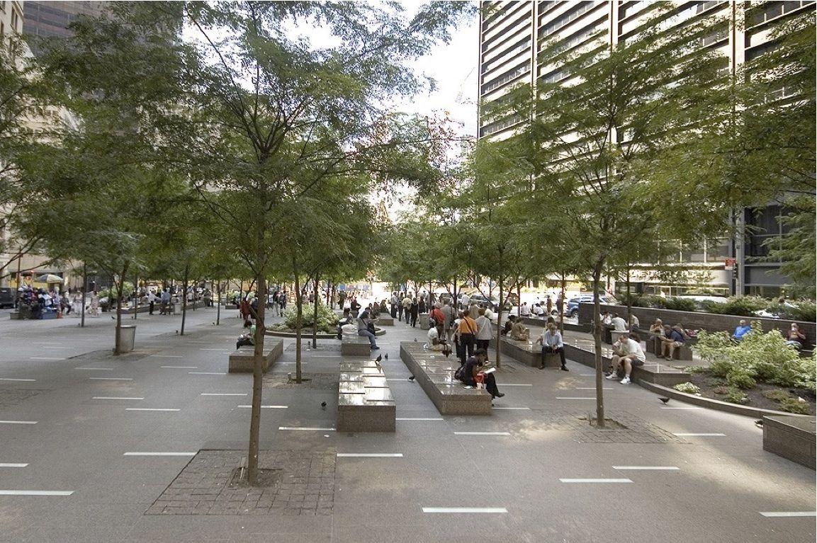 Privately Owned Public Spaces (POPS) Landscape by Design