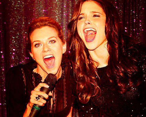 -Peyton Sawyer & Brooke Davis