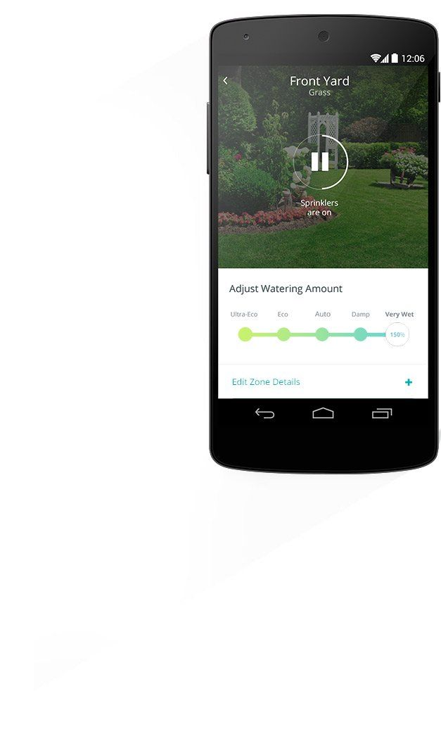 The App Blossom The Smart Watering Controller