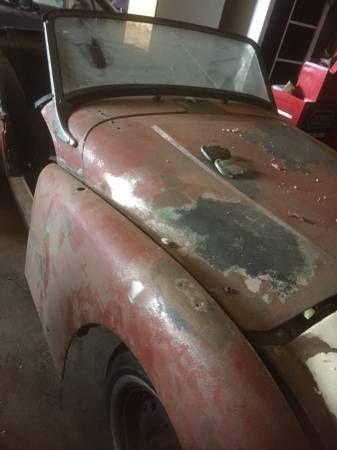 1958 Triumph TR3 Restoration Project $5,000 Maryville, TN