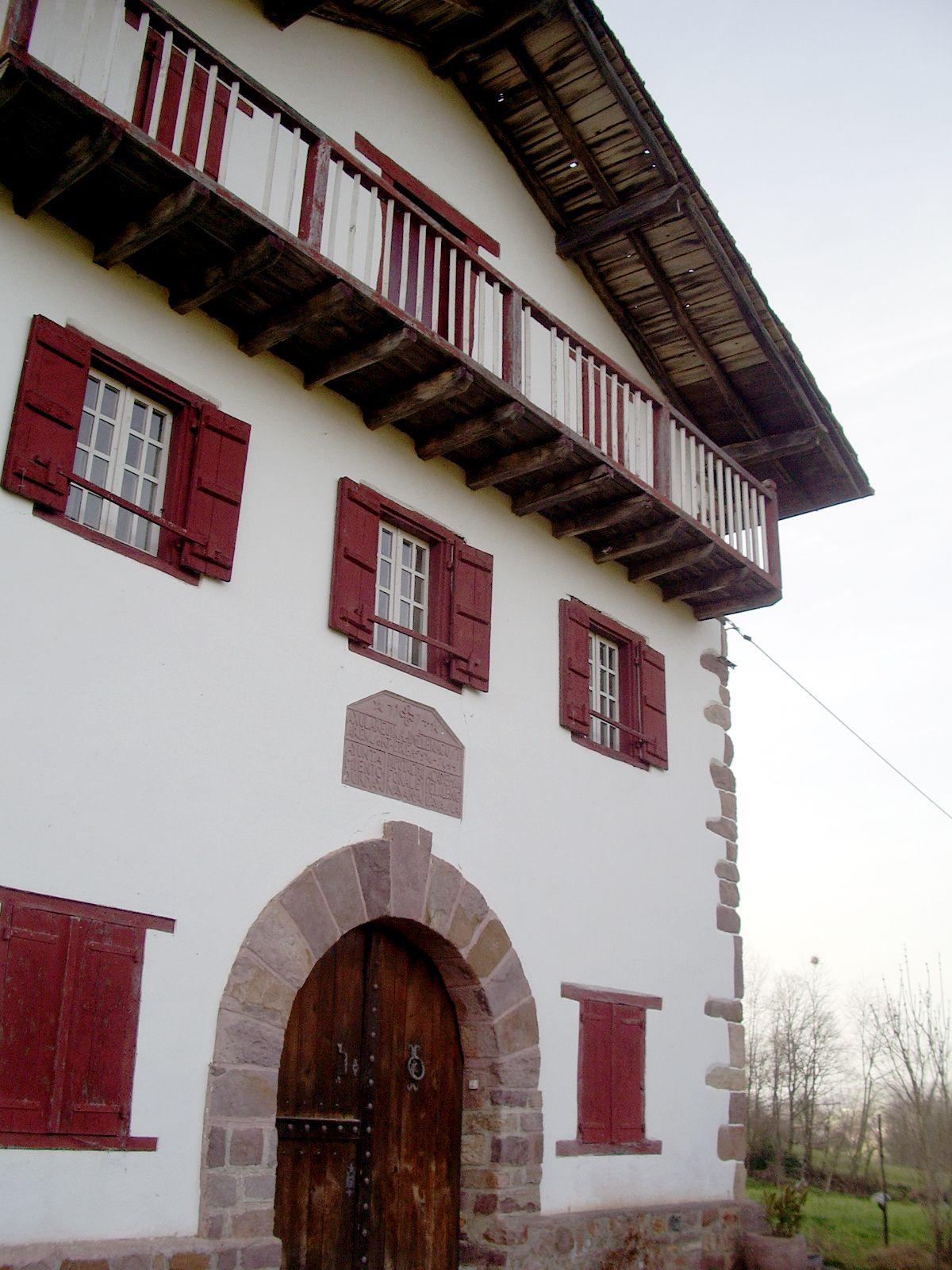 Maison Ascarat jolie maison en pays basque pour six personnes