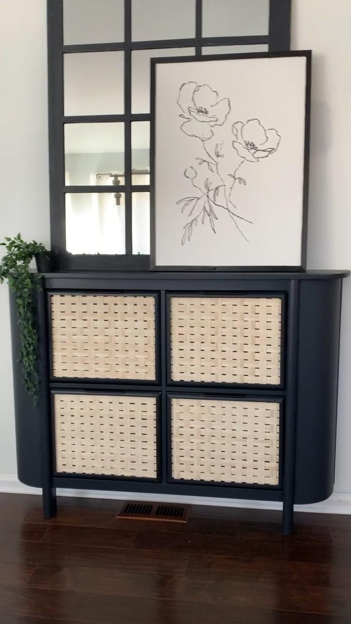 IKEA Hemnes Hack - Curvy Shoe Cabinet