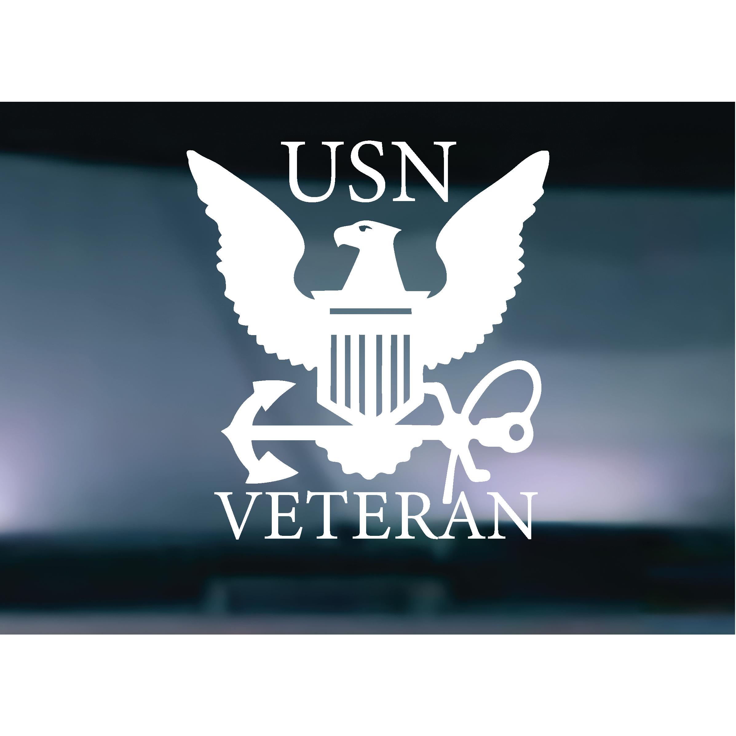 U.S Marine Veteran Vinyl Decal Laptop SUV Car Truck Window Cooler FREE DECAL