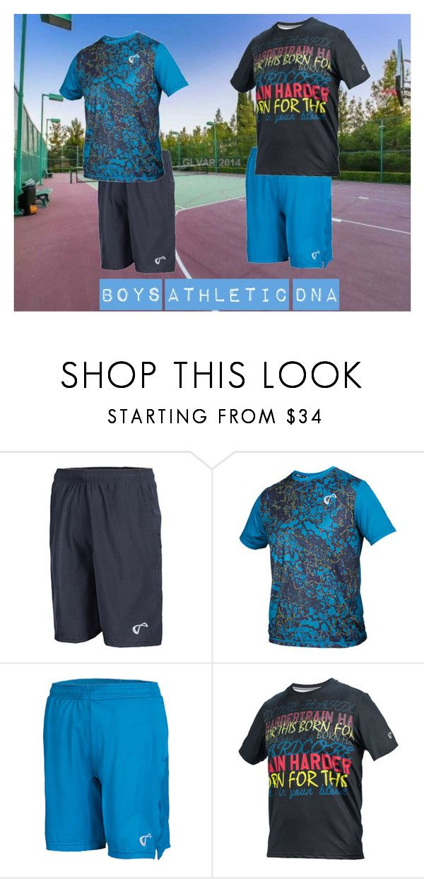 """""""New Spring Athletic DNA Tennis Gear for Boy's"""" by tennisexpress ❤ liked on Polyvore featuring tennis, athleticwear, tennisfashion and TennisExpress"""