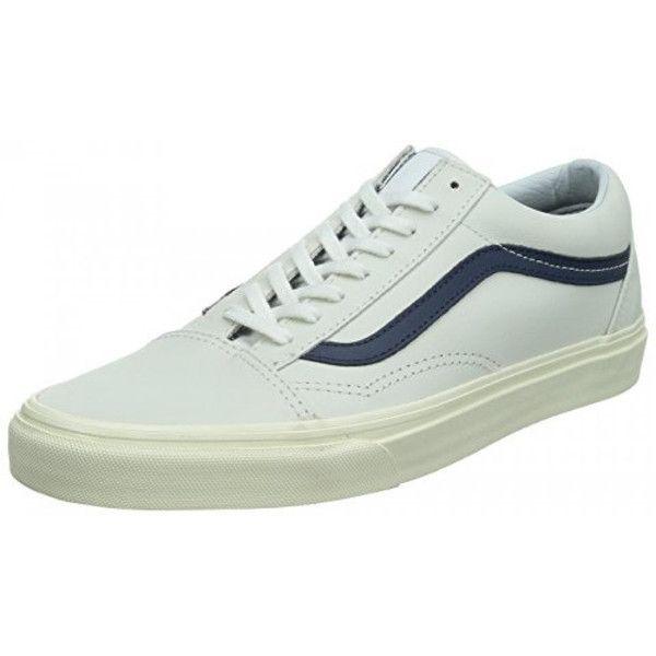 3a6e479fcc1405 Vans Unisex Old Skool(tm) (Matte Leather) True White Sneaker Men s 11.5  Women s 13 MediumMen s 7.5 Women s 9 Medium  dea-regalo AU-B00NBGH4XQ  -   39.99 ...